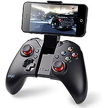 PowerLead Gapó mando clásico Bluetooth Wireless Gamepad del juego (con función de ratón) para PC Samsung MOTO HTC Addroid TV Box Tablet