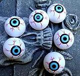 Horror-Shop Kunststoff Augäpfel Pongball Augen