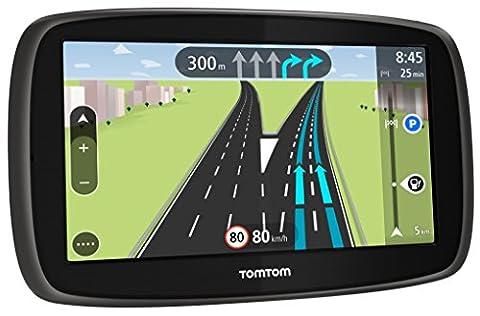 TomTom Start 40 CE GPS Eléments Dédiés à la Navigation Embarquée Europe Fixe, 16:9 (Import Europe)
