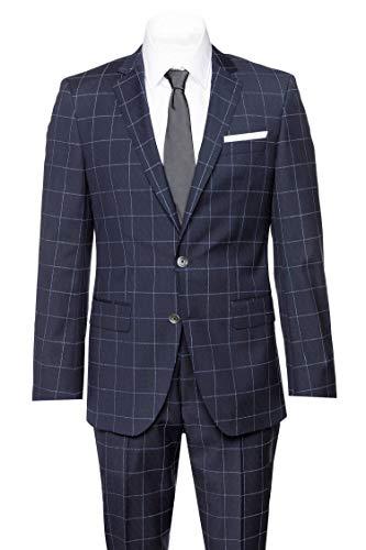 BOSS Herren Anzug Modell Hutson5/Gander3 Blau 54