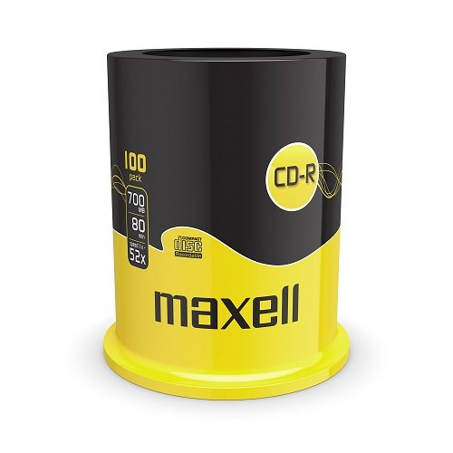 Maxell CD-R 52x Blank Discs 700M...