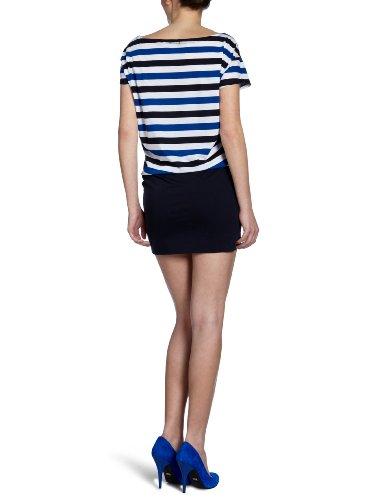 Marc O'Polo Damen Kleid (mini), gestreift 204 2211 21427 Mehrfarbig (F45 combo)