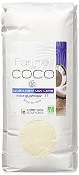 Comptoirs Et Compagnies Farine De Noix De Coco Bio Commerce Equitable 1 Kg