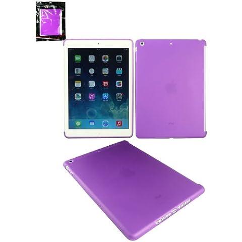 Emartbuy® Apple Ipad Air Smart Gel / Copertura / Case Viola