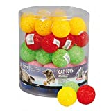 Minnie Gatto giocattolo: 3X Glitter palle Ø 5cm # 502101