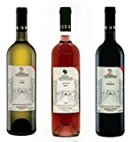 Domaine Hatzimichalis Alfega Trinity- Rouge, Blanc, Rose Sec Vin 3 X 750ml