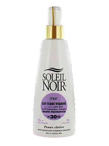 Soleil Noir Spray Lait Fluide Vitaminé SPF 30 150 ml