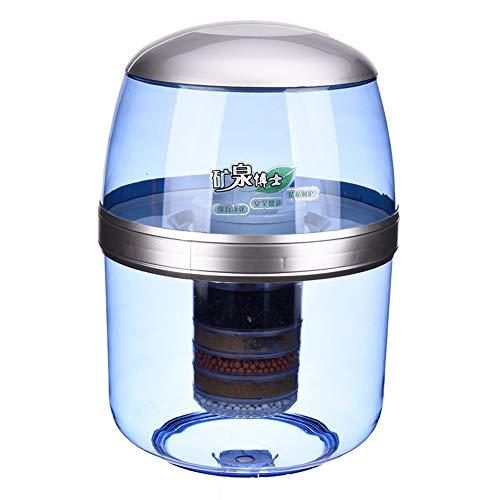Purificador de agua alcalina, dispensador de agua potable directa, filtro de agua de la encimera sin electricidad