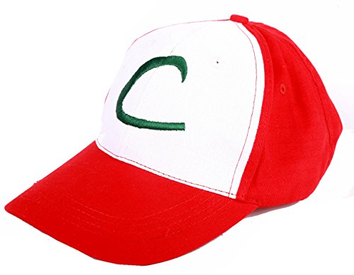 Cosplay Hat Costume (Pokemon Ash Ketchum Kostüme)