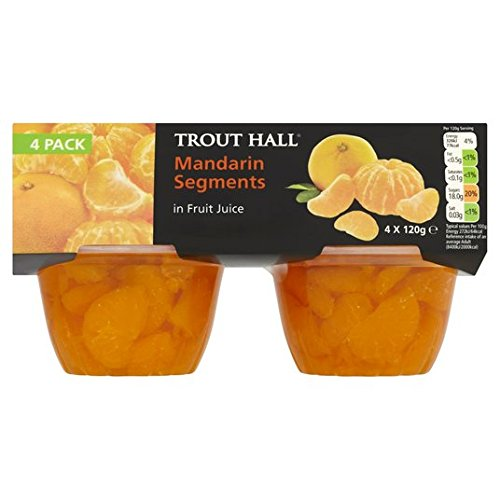 Segments Trout Hall Mandarin 4 x 120g