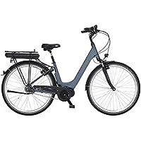 Fischer E-Bike City CITA 2.0, Elektrofahrrad, petrol matt, 28 Zoll, RH 44 cm, Mittelmotor 50 Nm, 36 V Akku