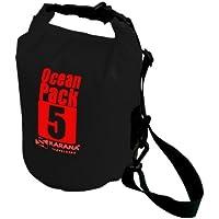 Karana Ocean Dry Pack Day Waterproof Travel Kayak Bag 5 Litre 5L Black