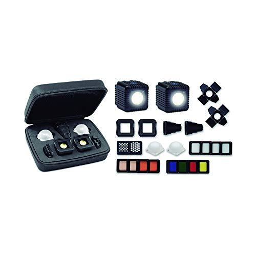 Lume Cube Beleuchtungsset Professional Light Kit 2 LED-Lampe mit Zubehör -