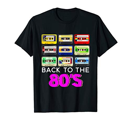 80s Cassettes T-shirt for Adults or Kids