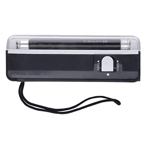 Ogquaton Portátil de Mano UV LED Luz de la antorcha Lámpara Moneda falsificada Detector de Dinero Detector de Moneda Falsa Probador de Dinero Conveniente