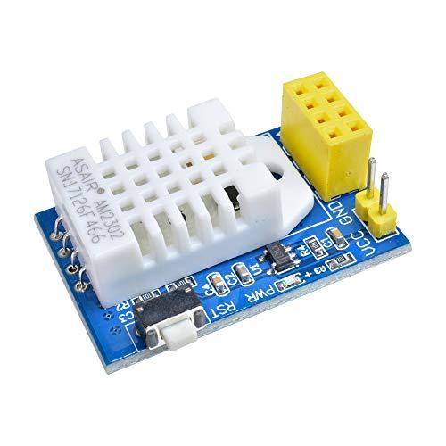 ESP8266 ESP-01/01S DS18B20 Temperatur-/Luftfeuchtigkeitssensor WLAN-Modul für Arduino Smart Home IOT DIY Kit, DHT22 TMP+HUM Module, 1