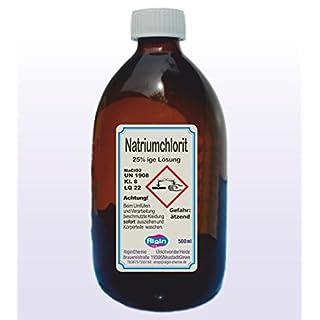 Algin Natriumchlorit 25% 500ml Braunglasflasche