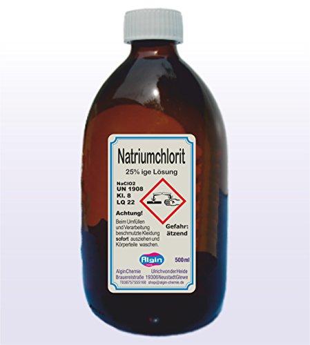 Algin Natriumchlorit 25% 2x500ml Braunglasflasche -