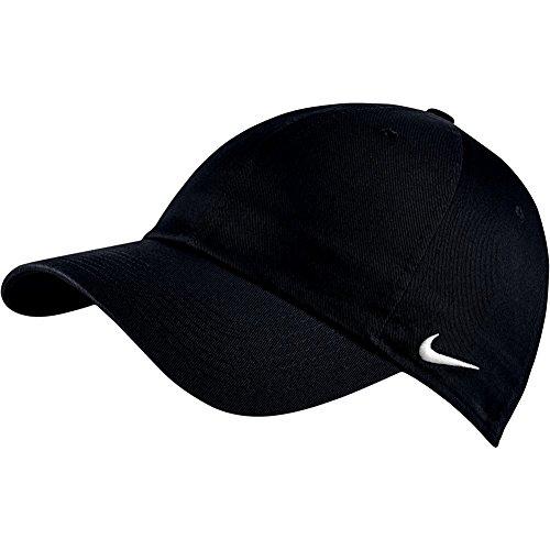 Mütze Winter Nike Männer (NIKE Herren Kappen/Mützen Heritage 86 Cap 102699-010 schwarz onesize)