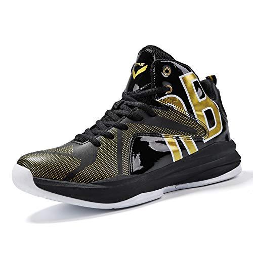ASHION Jungen Basketballschuhe Turnschuhe Kinder Sportschuhe Herren Sneaker Laufschuhe Outdoor Schuhe