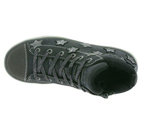 Lurchi - Starlet-tex, Scarpe da ginnastica Bambina Charcoal