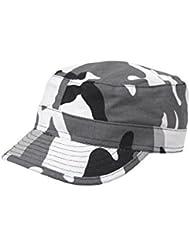 Casquette militaire Type US camo urbaine gris