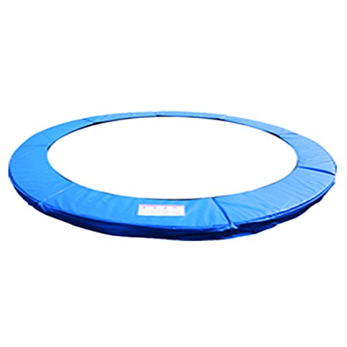 Greenbay 8FT Replacement Trampoline Surround Pad Foam Safety Guard Spring Cover Padding Pads Blue