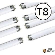 Paquete de 10T8tubo fluorescente trifósforo 121,92cm 36W–Color Extra blanco cálido