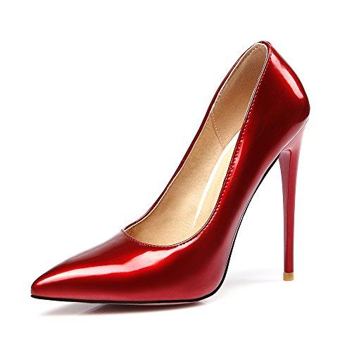 JIEEME Stivali Donna Red