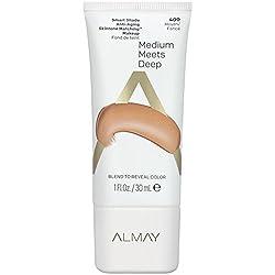 Almay Smart Shade Anti-Aging Makeup, Medium Meets Deep