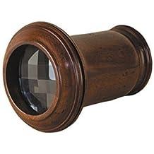 Modelo de un colour verde ofrece prismas de cristal, Caleidoscopio, diseño de ojo de dragón