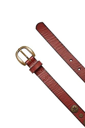 edc by ESPRIT 116CA1S004, Cintura Donna, Marrone (Rust Brown), X-Small ( 75)