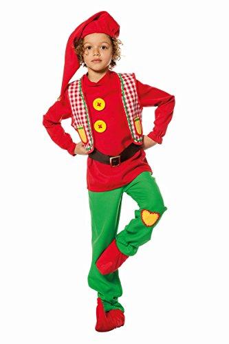 Kinder Kostüm Märchen Zwerg Gartenzwerg Karneval Fasching Gr.104