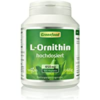 Greenfood L-Ornithin, 500mg, hochdosiert preisvergleich bei fajdalomcsillapitas.eu