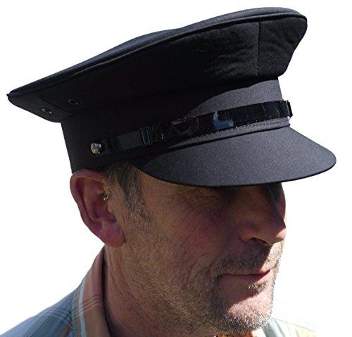 Thorness Grau Chauffeur Stil Hut - Größe 60cm