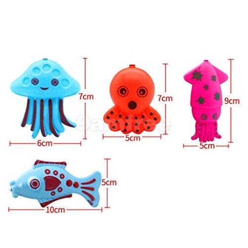 ELECTROPRIME® 22Pcs Fish Model Kids Toy Magnetic Fishing Pretend Game Kids Children Toy