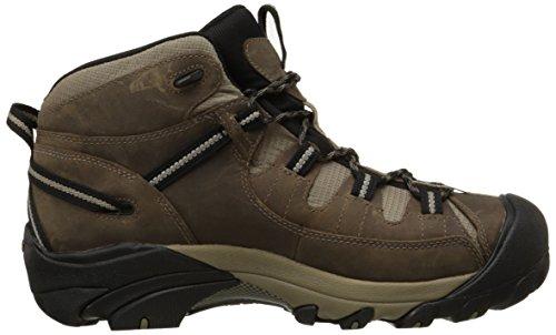 Keen Targhee Ii Mid, Chaussures de Randonnée Hautes Homme Beige (Shitake/Brindle)