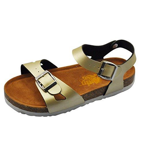 00e4d3c5821027 Damen Komfort-Sandalen Flache Hausschuhe Unisex-Erwachsene Pantoletten  Slipper Bequemschuh Sandaletten Schlappen Pantoletten Schuhe