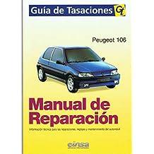 MANUAL DE REPARACION Y TALLER PEUGEOT 106 GAS Y DIES