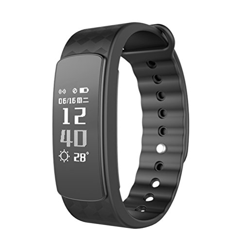 Smart Watch/Fitness Tracker ,Resistente all'acqua Braccialetto Orologio Fitness Cardiofrequenzimetro activity