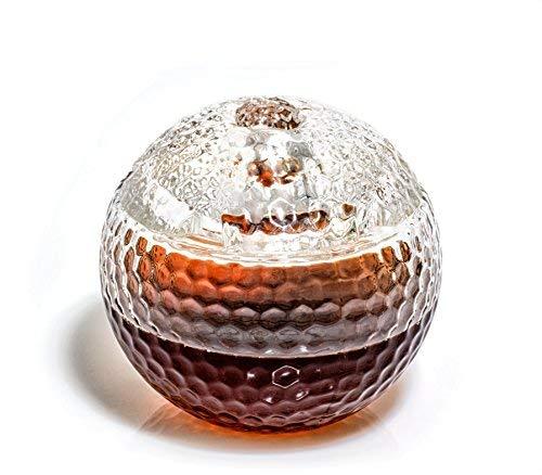 Golf Ball Whisky Dekanter-Scotch Whiskey Dekanter-1000ml Dekanter für Alkohol-Wodka, Bourbon, rum, Wein, Whiskey, Tequila-Glas (Golf Dekanter von Prestige Karaffen)