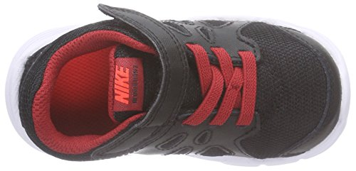 Nike Revolution 2 TDV, Baskets premiers pas mixte bébé Multicolore (Black/Red)