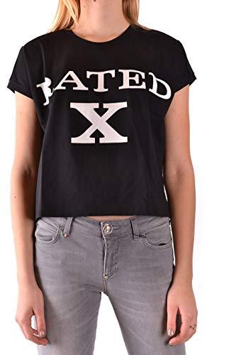 JEREMY SCOTT T-Shirt Donna Mcbi87517 Cotone Nero...