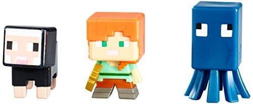 Minecraft 3pack Mattel Actionfiguren Serie J