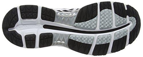 Asics Gel-Nimbus 18, Chaussures de Running Compétition Homme Noir (black/silver/carbon 9093)