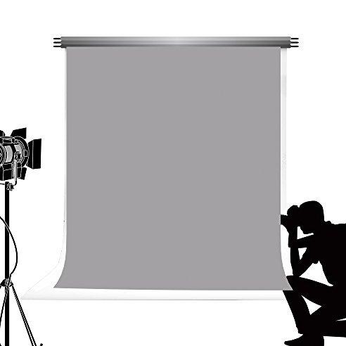 KateHome PHOTOSTUDIOS Kate Grau Einfarbig Fotografische Hintergrund 1,5*2,2m Nahtlose Strukturierter Hintergrund Studio Fotografie Baby...