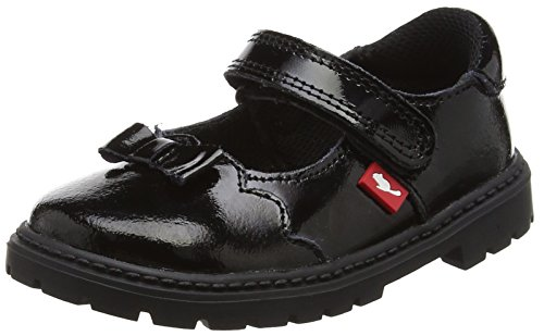 Chipmunks Girls' Amber Mary Janes, Black (Black), 10 Child UK 28 EU