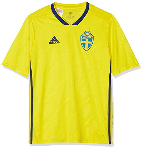 adidas Kinder Schweden Heimtrikot Yellow/Mysink 176.0