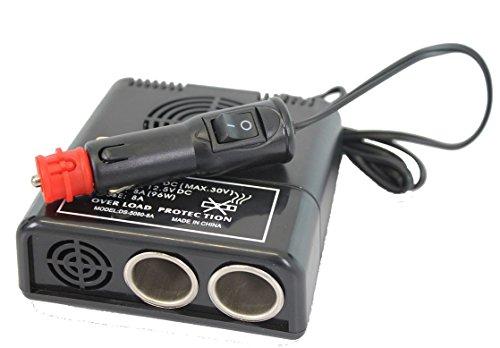 Preisvergleich Produktbild Gleichstromwandler Spannungswandler Konverter 2x 4 Amp 96 Watt 12-24V