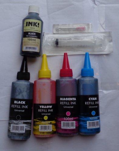 farbemittel-4-farben-100-ml-tinte-canon-pigment-bk-patronen-spritze-duse-nachfullen